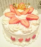 グルテンフリー★ワンちゃん用お誕生日ケーキ★