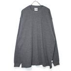 8.1oz Heavy Weight Waffle L/S Cut&Sewn - Charcoal -