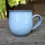 月白青瓷丸マグカップ