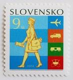 郵便輸送の変換 / スロバキア 2004