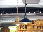 人気商品! LEDハンギングランプ タイプツー  3色展開  POST GENERAL ハニココシール付き!
