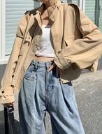 予約注文商品  クリュックミニマルジャケット ジャケット 韓国ファッション