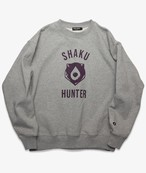 SHAKU-HUN BEAR LOGO SWEAT GRAY