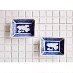 【 瀬戸豆皿 - ひょうたん -】 松 / 磁器 / 2個セット /  antique / japan