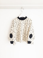 4PATTERNS DOLMANSLEEVES SWEAT TP / LL