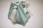 oru 裂き織りバッグ no.36 巾着