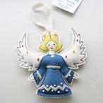 天使のオーナメント / Blue /149b/ HUNGARY ハンガリー
