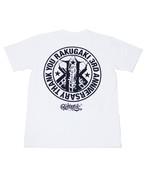 RAKUGAKI 3RD ANNIVERSARY T-Shirts White×Black