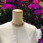 aK beads wire neckless 2 mix color