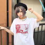 【BLOOD FAMILY SHOW】T-SHIRTS【WHITE】