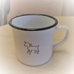 ヤギのホーローマグカップ