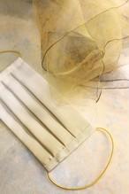 THE GOLD BOX|絹マスク&スカーフ「伽羅」 セット