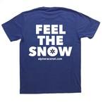 feel the snow-T・ロイヤルブルー