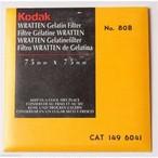 中古 コダック/Kodak Wratten ゼラチンフィルタ 75 mm
