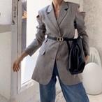 予約注文商品 ショルダーカットジャケット ジャケット 韓国ファッション