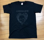 LONDON NITE Heart Skull-Catシリーズ  TEE