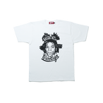 K'rooklyn T-Shirt × 上岡 拓也 - White (BASQUIAT)