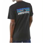 パタゴニア PATAGONIA Tシャツ 半袖 メンズ P-6ロゴ レスポンシビリティー 39174 Black 【正規取扱店】