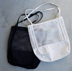 mesh bag Black/White