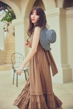 Summer Linen Plaid Bucket Hat