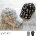 【即納】2019春新作 凹凸ツイードキャップ 帽子 野球帽 A-040