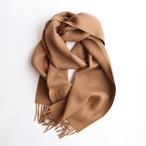THE INOUE BROTHERS/Brushed Scarf/Camel