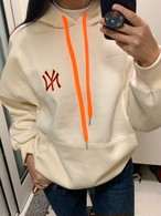 NY起毛フードトレーナー フーディー フードトレーナー 韓国ファッション