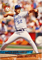 MLBカード 93FLEER Mike Boddicker #205 ROYALS