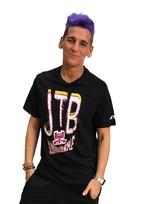 【JTB】COLORE LOGO Tシャツ【ブラック】【新作】イタリアンウェア【送料無料】《M&W》