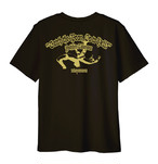 TME19-01/TAKAYAMANIA EMPIRE2 Tシャツ ブラックxゴールド