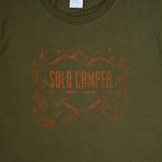 【完全受注】Solo Camp Tシャツ【オリーブグリーン】