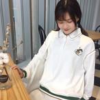 【新作10%off】polo color loose sweater 3231