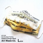 "3日21時販売開始【Original Design MASK】 ""Art Mask-01"" ILL-mask-03"