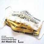 """3日21時販売開始【Original Design MASK】 """"Art Mask-01"""" ILL-mask-03"""