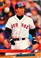 MLBカード 93FLEER Jack Clark #148 RED SOX