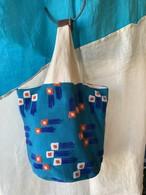 【bucket bag】wish/ブルー/original design