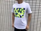 Calvin Klein BOXロゴ Tシャツ(white × neon)