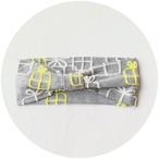【ターバン】gift/グレー/original textile