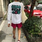 数見亮平 SOMETHING ロングスリーブTシャツ