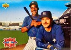 MLBカード 93UPPERDECK Roberto Kelly & Don Mattingly #47 YANKEES TEAMMATE
