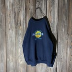 [Hard Rock Cafe]New York navy sweat