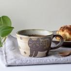 ハチワレネコのマグカップ s2