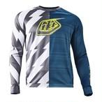 Troyleedesigehns Moto Jersey Caustic / DIRTY BLUE / LG & Moto Short Caustic  / DIRTY BLUE / 32 SET (SALE)
