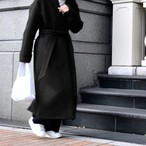 LONG COAT/BLACK