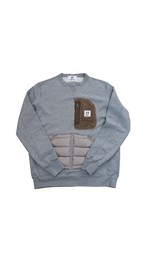 OUTDOOR POCKET SWEAT SHIRTS(GRAY)