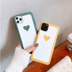 【オーダー商品】 Simple love heart iphone case