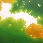 絵画 インテリア アートパネル 雑貨 壁掛け 置物 おしゃれ こもれび 木漏れ日 自然 風景 ロココロ 画家 : 馬見塚喜康 作品 : こもれび-Ⅳ