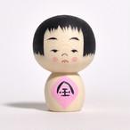 小さな金太郎ちゃんこけし 約1寸 約3.5cm 鈴木明 工人(作並系)#0273