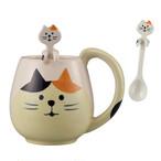 三毛猫 マグカップ