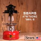 Sears シアーズ ダブルマントル ランタン 476.74060 1964年2月製造 [Z03]
